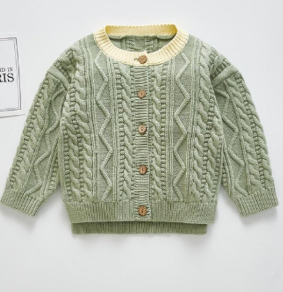 Limited Edition-Mint Unisex Knitted Sweater Dress Yo Baby Wholesale