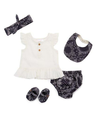 Navy Blue 5 pc. Set 5-pc. Set Yo Baby Wholesale