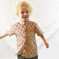 Printed Light Grey Shirt boys Yo Baby Wholesale