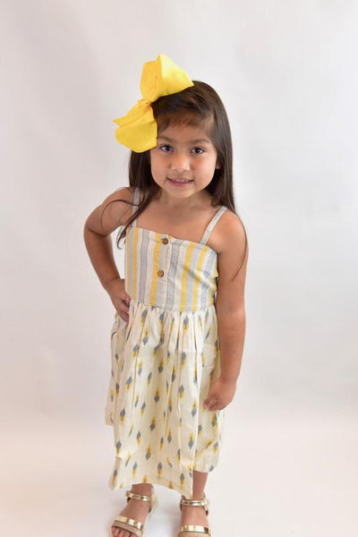 Stripe & Abstract Strap-Dress Dress Yo Baby Wholesale