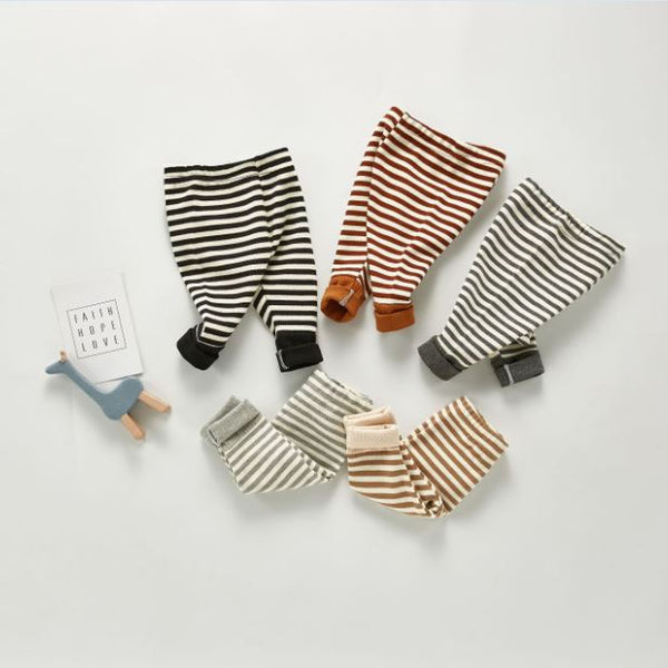 Striped Leggings - Unisex Yo Baby India