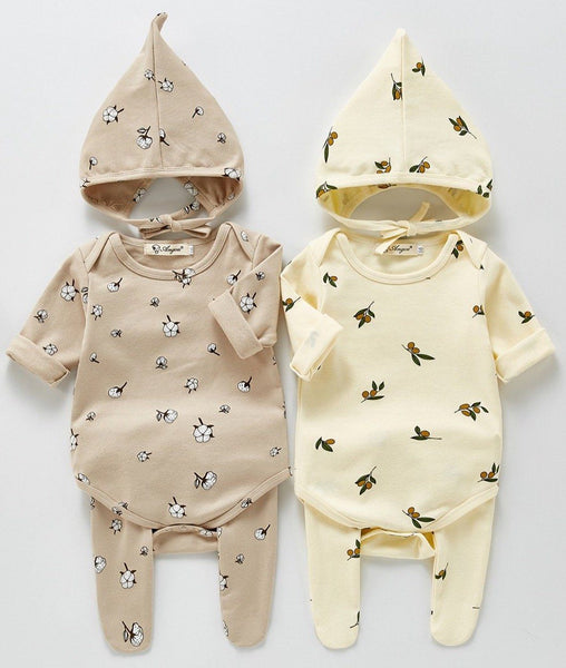 Unisex Infant Three-Piece Set Yo Baby India