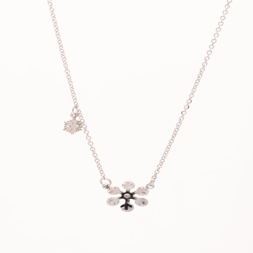 Stainless Steel Snowflake Necklace