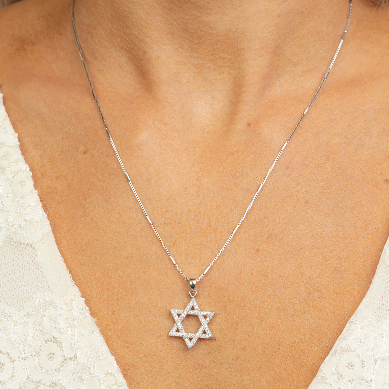 Star of David Necklace.
