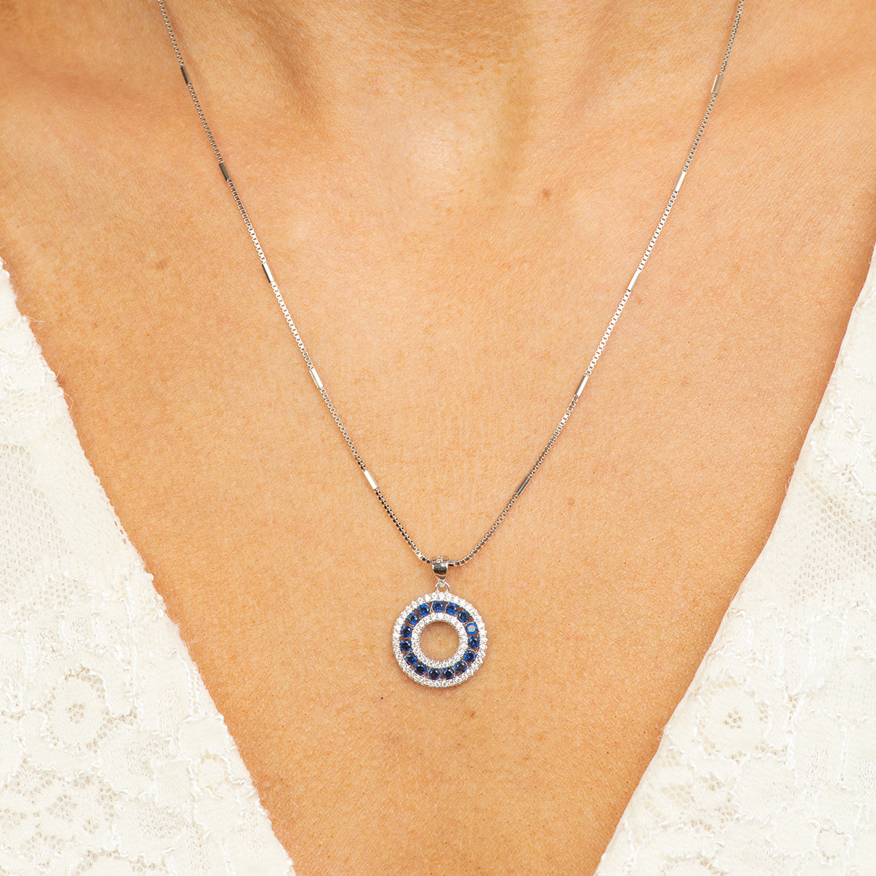 circle of life necklace.