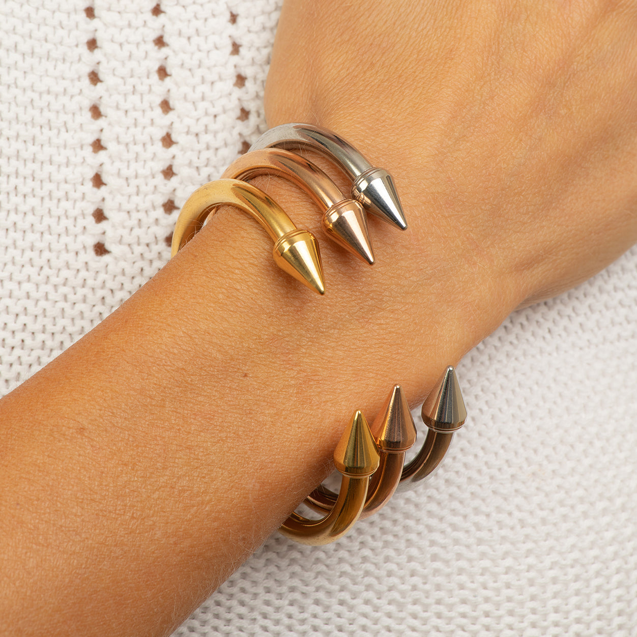 stainless steel nail bangle