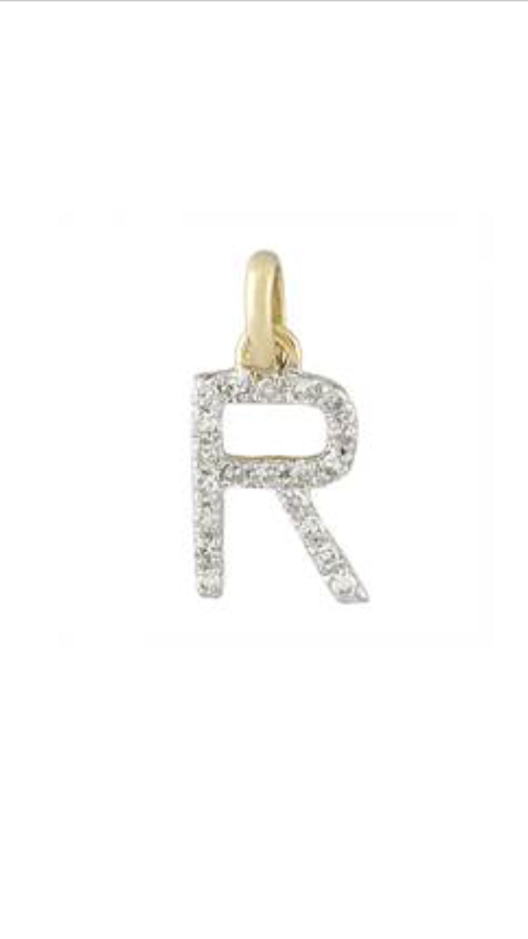 Small Diamond Initial