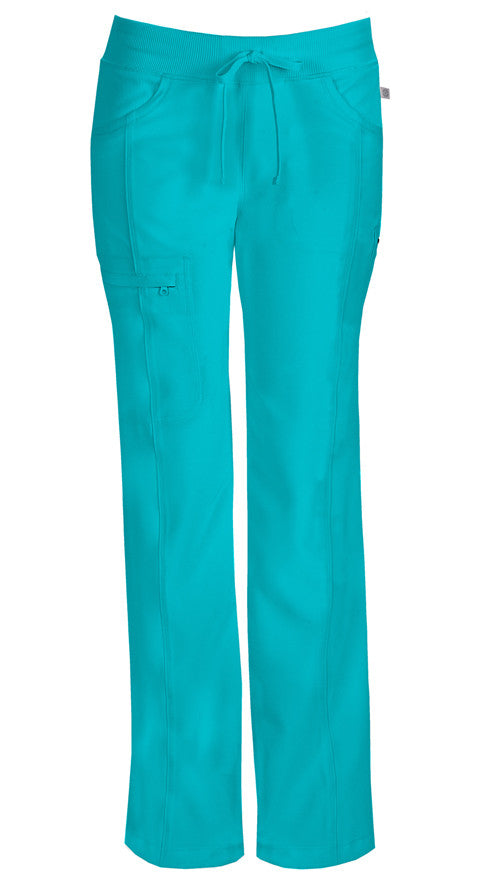 Cherokee Women's Infinity Straight Leg Pant ( Teal Blue )