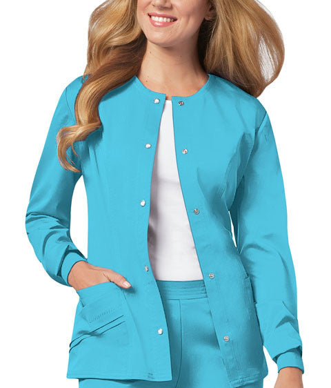 Cherokee Luxe Women's Warm-up Jacket ( Blue Wave )