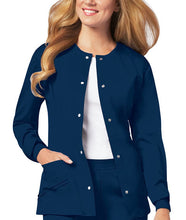 Cherokee Luxe Women's Warm-up Jacket ( Navy )