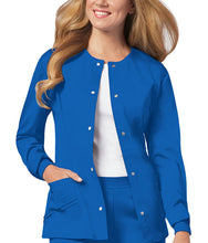 Cherokee Luxe Women's Warm-up Jacket ( Royal )