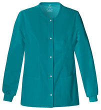 Cherokee Luxe Women's Warm-up Jacket ( Teal )