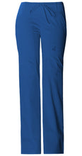 Cherokee Luxe Women's Drawstring Cargo Pant ( Royal Blue )