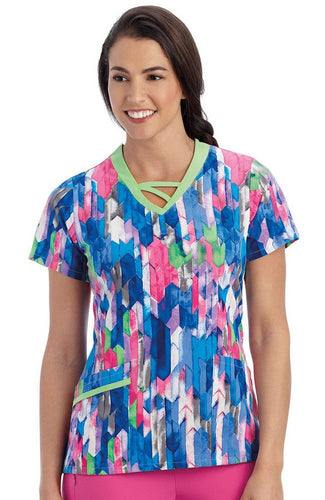Jockey Women's Scrub Top ( Momentum )