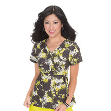 KOI Kathryn Scrub Top (Splash Animal)