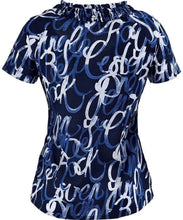 Koi Celeste Scrub Top (Poetry)