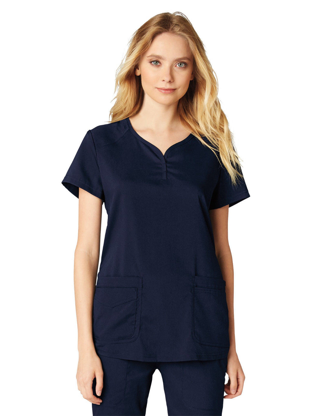 Koi Women's Gratitude Scrub Top (Navy)