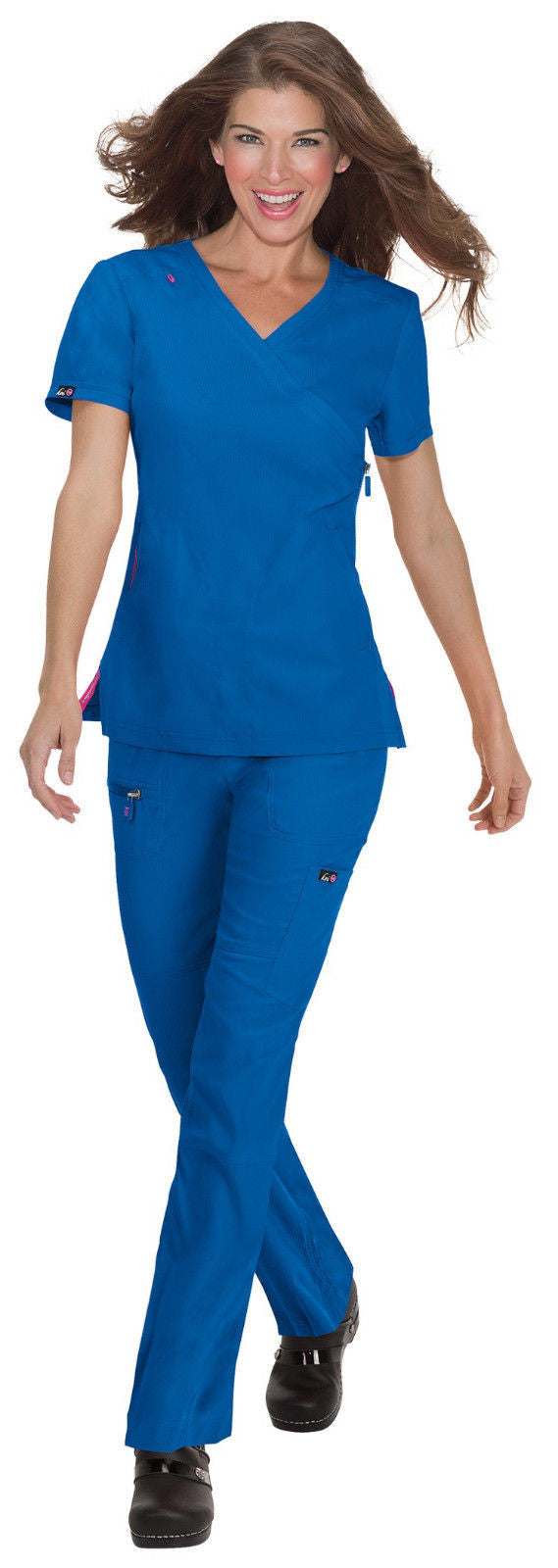 Koi Philosophy Scrub Top (Royal)