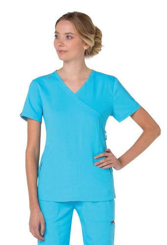 Koi Philosophy Scrub Top ( Electric Blue )