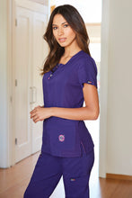 Koi Serenity Scrub Top (Grape)