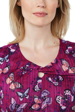 KOI Gigi Butterfly Scrub Top (Winged Darlings)