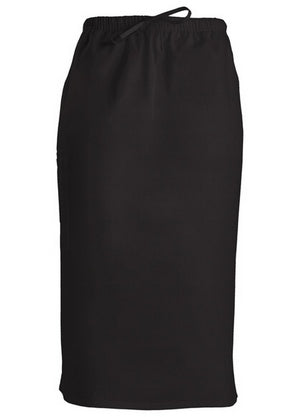 Cherokee Workwear Drawstring Scrub Skirt (Black)