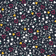 Code Happy Scrub Print Top (  Not Heart To Inspire )