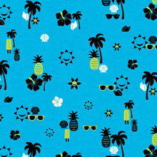 Code Happy Scrub Print Top ( Taking In The Rays )
