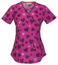 Code Happy Scrub Print Top ( Hello Sweetheart )