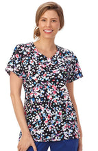 Bio Women's Print Top ( Color Within )
