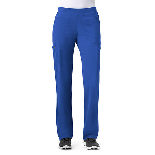 WonderWink Straight Leg Scrub Pant (Royal)