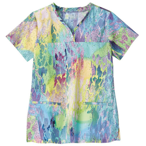 Bio Women's Print Top (Pastel Perfection)
