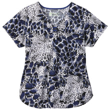 Bio Women's Print Top (Wild Distortion)