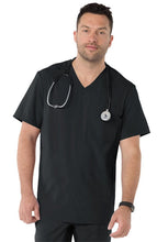 Copy of Koi Men's Scrub Top (Black)