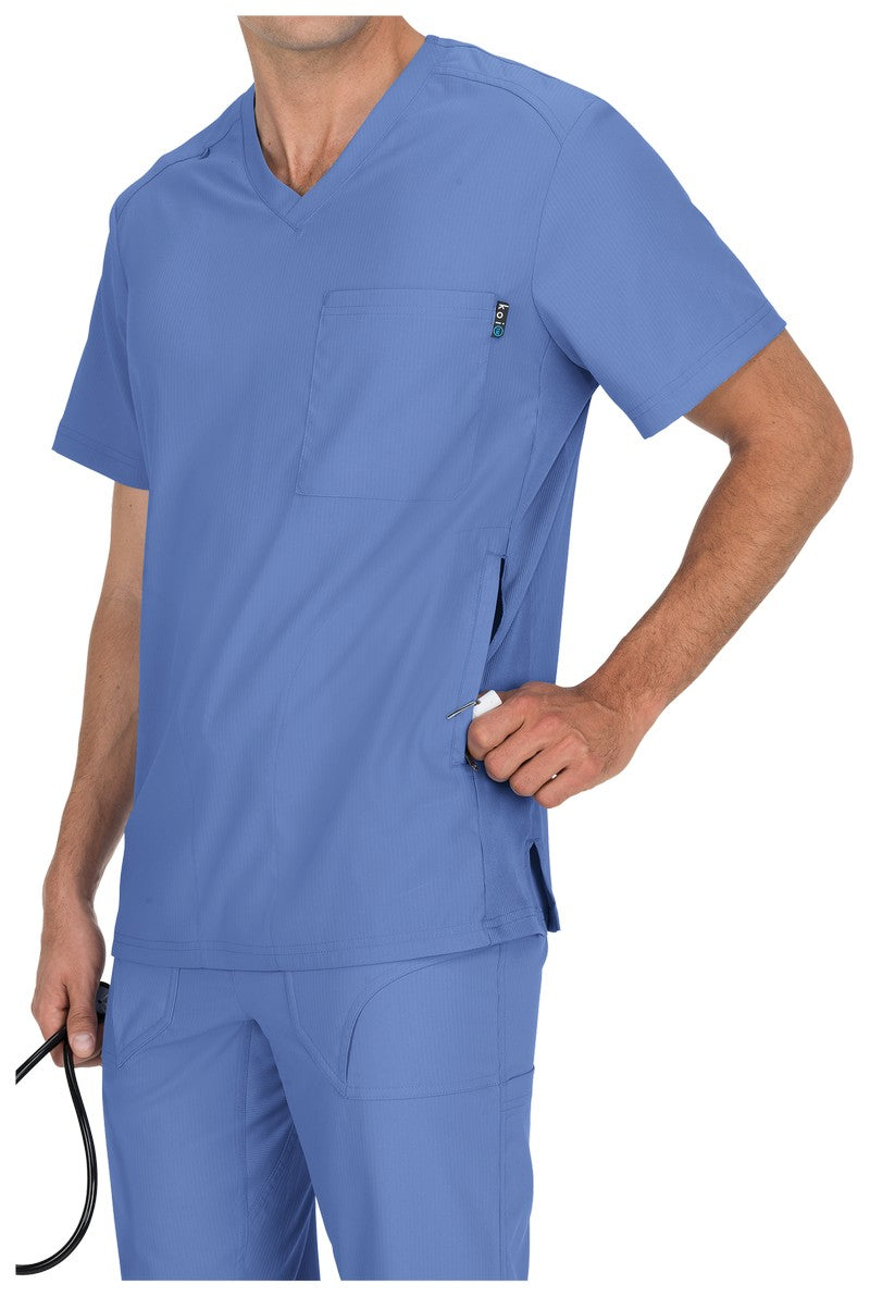 Copy of Copy of Koi Men's Scrub Top (Ceil)
