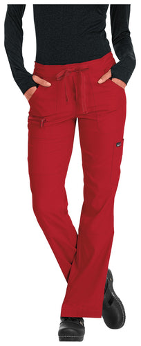Koi Peace Scrub Pants ( Red )