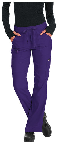 Koi Peace Scrub Pant (Grape)