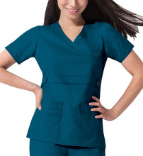 Dickies GenFlex Scrub Top (Caribbean Green)