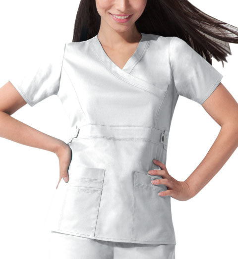 Dickies GenFlex Scrub Top (White)