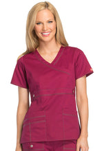 Dickies GenFlex Scrub Top (Mulberry)