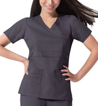 Dickies GenFlex Scrub Top (Pewter)