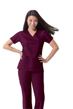 Dickies GenFlex Scrub Top (Wine)