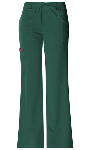 Dickies Xtreme Stretch Mid Rise Drawstring Pant (HTRZ)