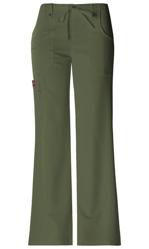 Dickies Xtreme Stretch Mid Rise Drawstring Pant (OLWZ)