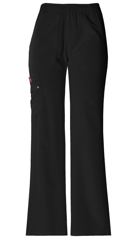 Dickies Xtreme Stretch Mid Rise Drawstring Pant (BLKZ)