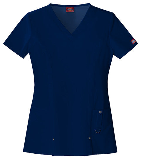 Dickies Xtreme Stretch Scrub Top (NVYZ)