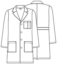 "Dickies 37"" Unisex Lab Coat (DWHZ)"