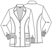 "Dickies 32"" Youtility Lab Coat (BLKZ)"