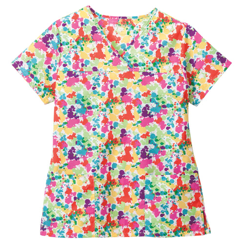 Copy of Jockey Scrub Top (Paint Splatter)