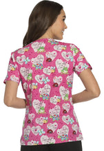 Cherokee Women's Heart Print Tops (  I Turtley Love You )